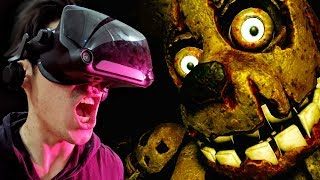 VR Five Nights At Freddie's Makes Grown Men Scream!