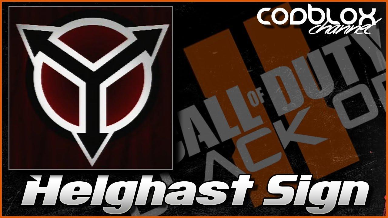 Killzone Helghast Symbol Black Ops 2 Emblem Tutorial Youtube
