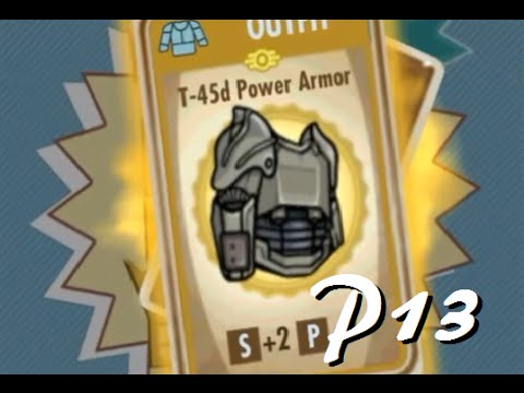 T45d POWER ARMOR! | Fallout Shelter P13