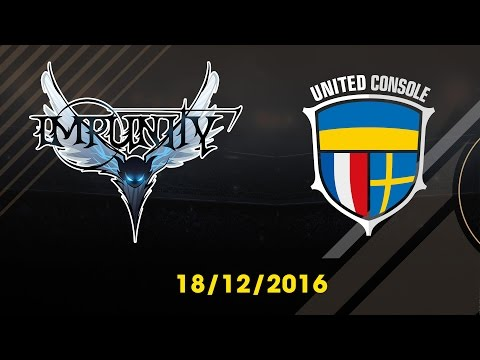 [18.12.2016] [EA CCW 2016] UTD CONSOLE vs SINGAPORE IMPUNITY [3-4 Match]