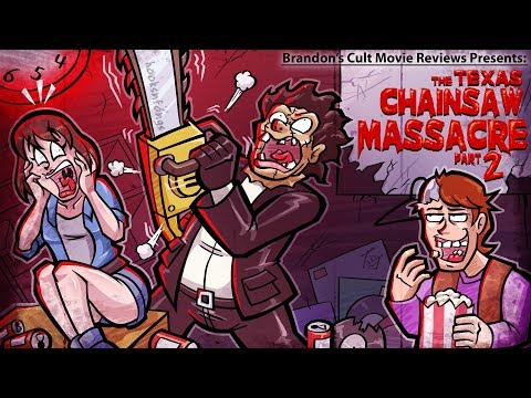 Brandon's Cult Movie Reviews: THE TEXAS CHAINSAW MASSACRE 2