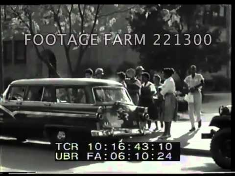 Little Rock, Arkansas High School Integration 221300-10.mp4   Footage Farm