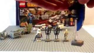 Обзор Lego Star Wars battle on Saleucami артикул : 75037