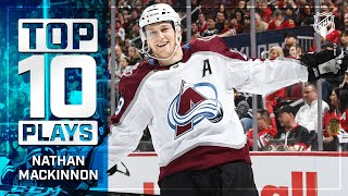 Top 10 Nathan MacKinnon Plays from 2019-20 | NHL