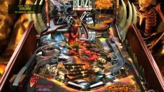 Pinball FX2: Ghost Rider - Terrible Gameplay (PC) 720p HD
