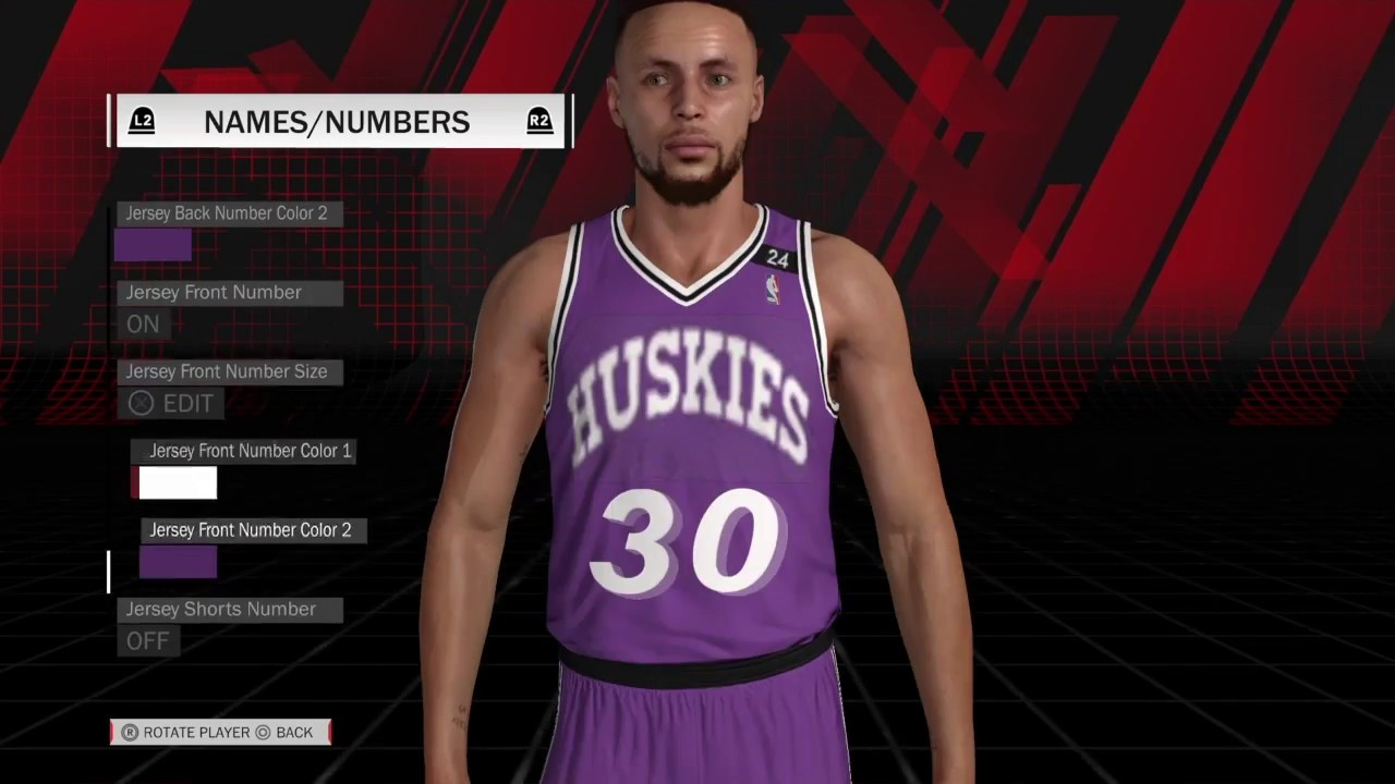 8ffe555f9d8 NBA 2k18 MyTeam - The 6th Man Jersey Creation - YouTube
