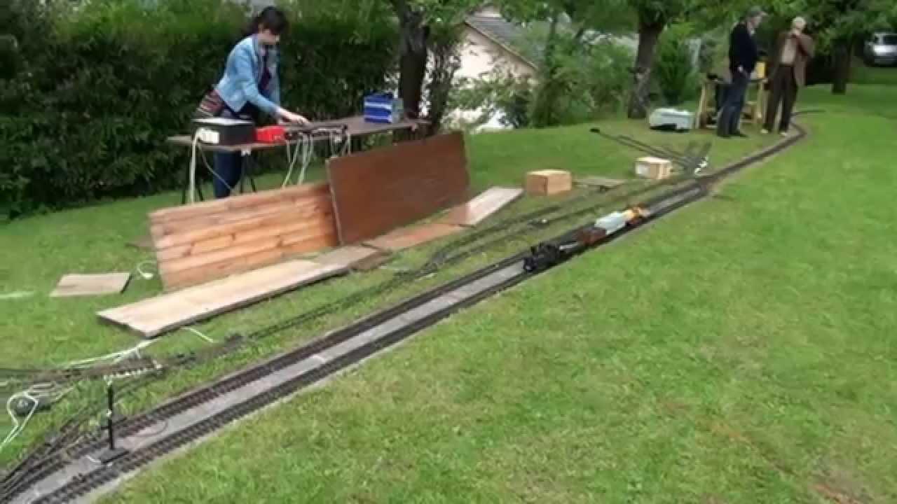Train de jardin 16 mai 2015 youtube for Calendrier lunaire jardin mai 2015