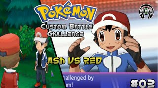 Pokemon Battle Challenge 3: Trainer Ash VS Trainer Red