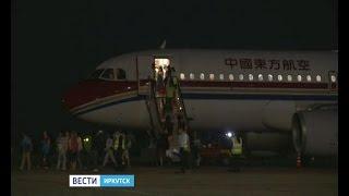 """Самолёты авиакомпании China Eastern Airlines начали летать в Иркутск, """"Вести-Иркутск"""""""
