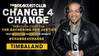 Timbaland Donates & Says He's All In #Change4Change