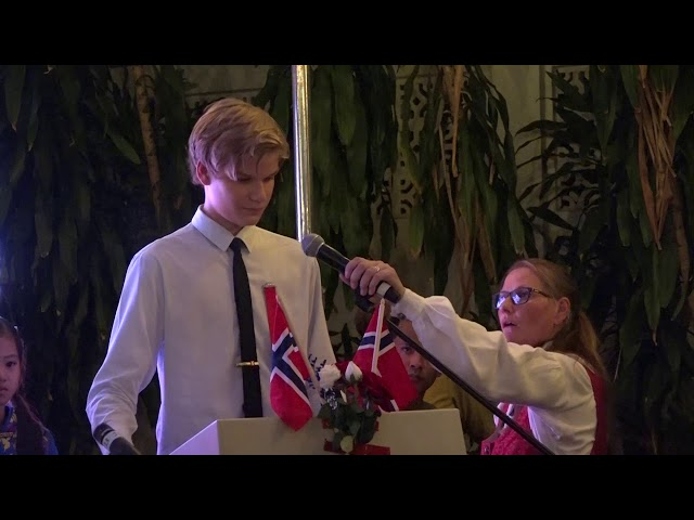 Felix (2022) speech on Norwegian National Day
