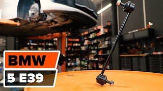 Wymiana Drążek wspornik stabilizator BMW 5 SERIES: instrukcja napraw