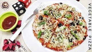 Vegetable 🍕 Pan Pizza // Weekend  Delicious Vegetable 🍕 Pizza On Pan // BY PREETI SEHDEV