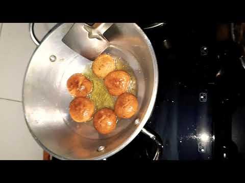 Ghee me fry Mini Bati Rasoi.me