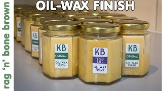 How To Make A Beeswax & Oil Furniture Polish For Wood Finishing