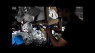Tutorial Membuat Sandal Spon | Kerajinan Tangan | Home Industry UKM