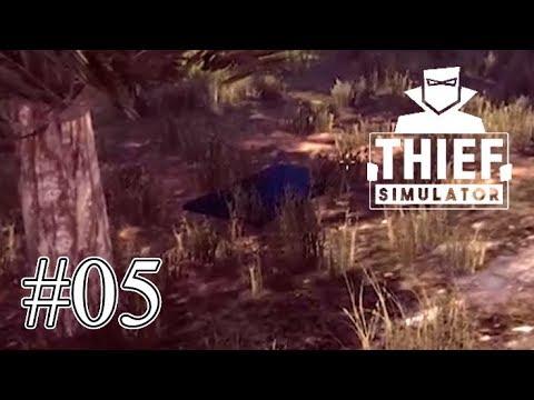 この辺野生のテレビとか生えるんですねぇ #05 ~ Thief Simulator