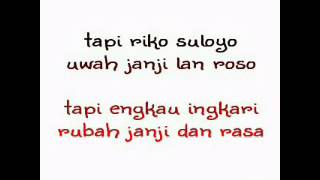 Lagu Lungset versi indonesia (REZA COVER MAHESA)