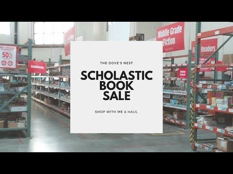 Scholastic Book Sale   Shop With Me & Haul