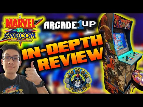 Arcade1Up Marvel VS Capcom In-Depth Review (PLUS Joystick/Button Modding Options Sanwa/Happ/IL) from Kongs-R-Us