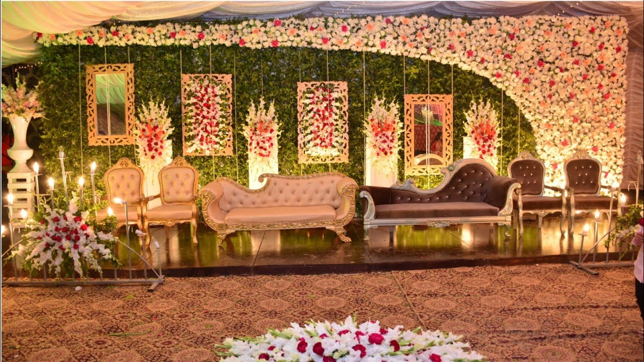 Latest and unique Beautiful Stage Decoration \u0026 First position pakistan