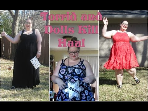 Plus Size Torrid and Dolls Kill Try On Haul