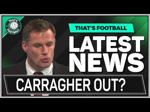 Jamie CARRAGHER SPITTING Debate! PREMIER LEAGUE Football News