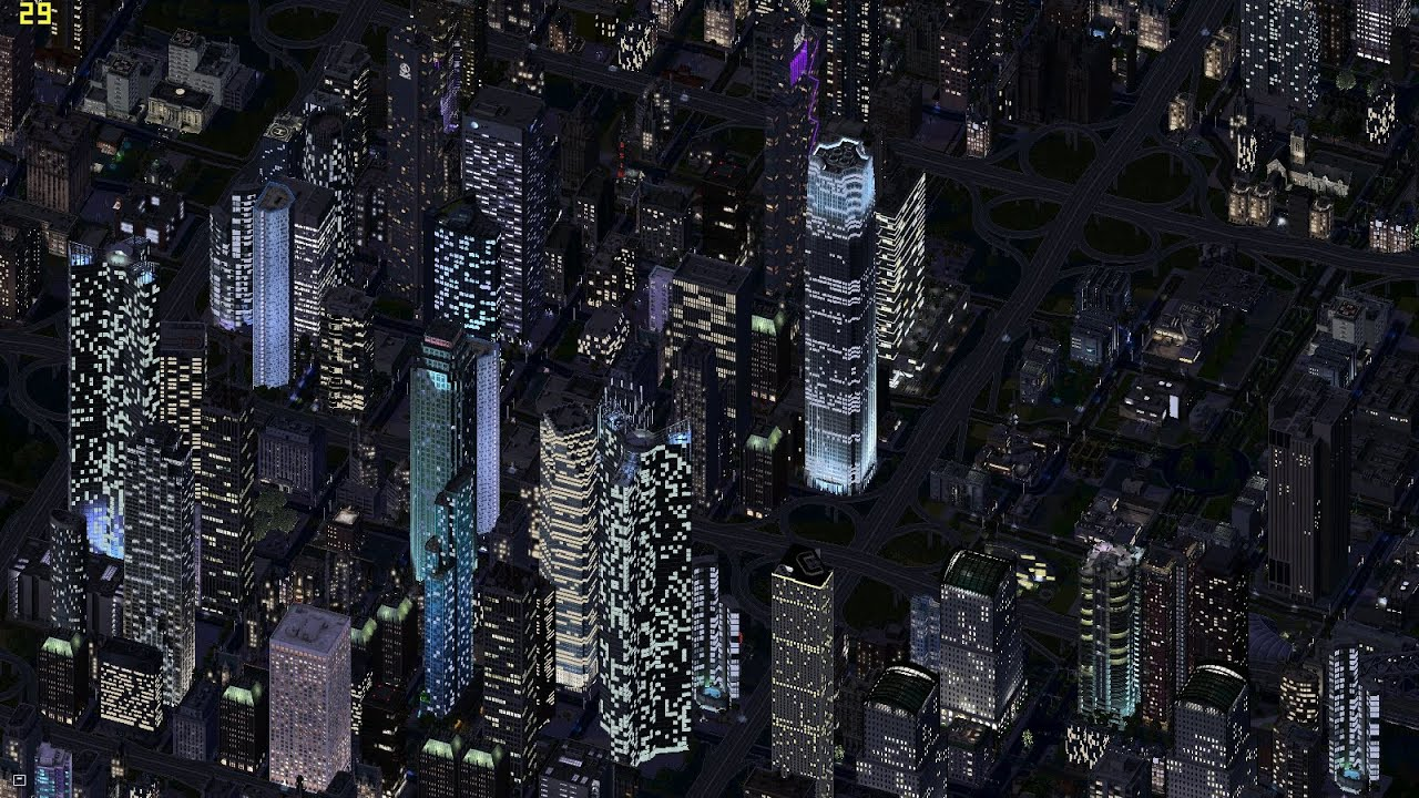 Advanced Tutorial for SimCity 4 [SimCity4]- Making huge cities with skyscrapers (with subtitles)
