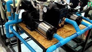 នេះជាប្រព័ន្ធបូមទឹកក្នុងអគារ l This is a building pump system