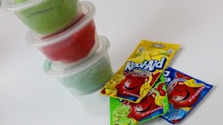 Messy Monday | Kool-Aid Playdough DIY | HOW TO