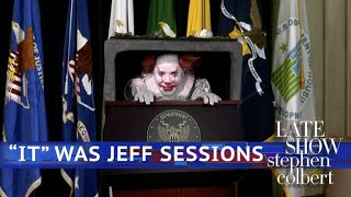 Pennywise The Clown Loves Jeff Sessions' New Immigration Policy