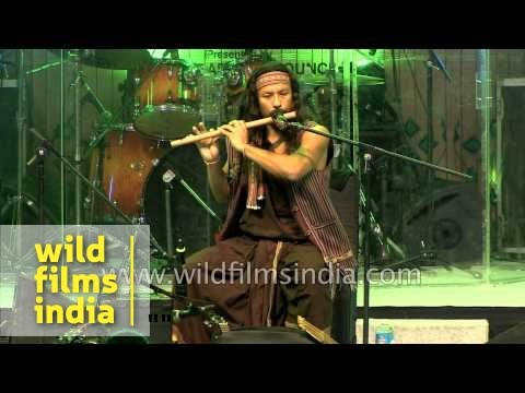 Phu Ning Ding (Phu Baba) - folk musician from Karbi Anglong, Assam