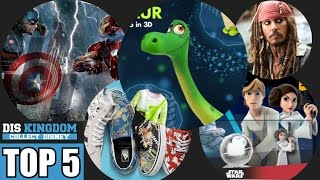 Top 5  - The Good Dinosaur, Vans, Pirates of the Caribbean Reopens, Dorbz & Rise Against The Empire