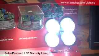 Solar Powered LED Security Light Demonstration - MASTERs 2014