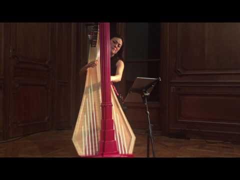 Lavinia Meijer On The Path Hallelujah Leonard Cohen Harp Paris