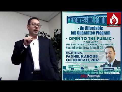 Fadhel Kaboub of Binzagr Institute for Sustainable Prosperity: An Affordable Job Program
