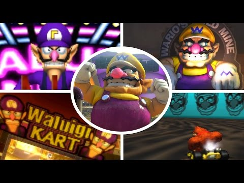 Evolution of Wario & Waluigi Courses in Mario Kart (1992 - 2017)