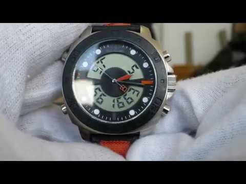 9625d28d7def Hugo Boss orange Ana-Digital Watch HB.149.1.29.2382 - YouTube