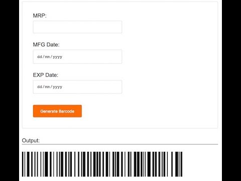How to Create Barcode Generator using PHP - Phppot