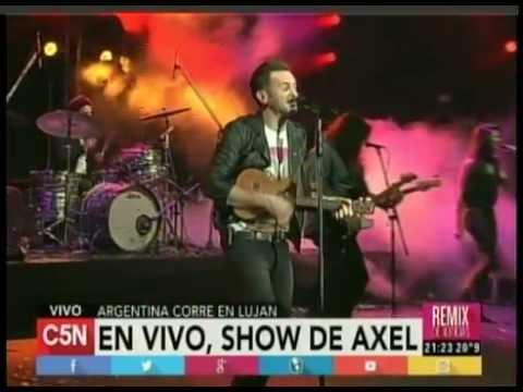 C5N  - ARGENTINA CORRE EN LUJAN: SHOW DE AXEL