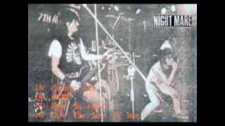 NIGHTMARE:eye of the thrash guerrilla (1988 japanese hardcore punk )