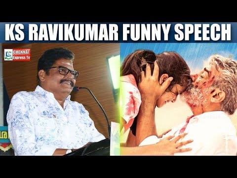 Sentiment இல்லனா இங்க படம் ஓடாது - KS Ravikumar Funny Speech | Chennai Express
