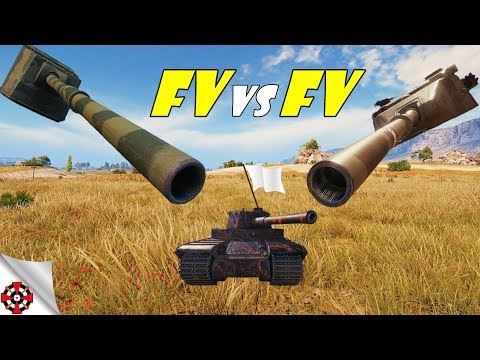 World of Tanks - FV4005 vs FV215b 183 DAMAGE RECORD! (WoT epic gameplay) thumbnail
