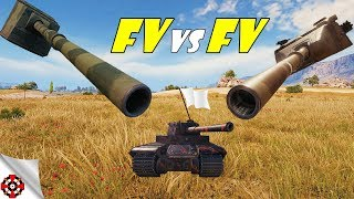 World of Tanks - FV4005 vs FV215b 183 DAMAGE RECORD! (WoT epic gameplay)
