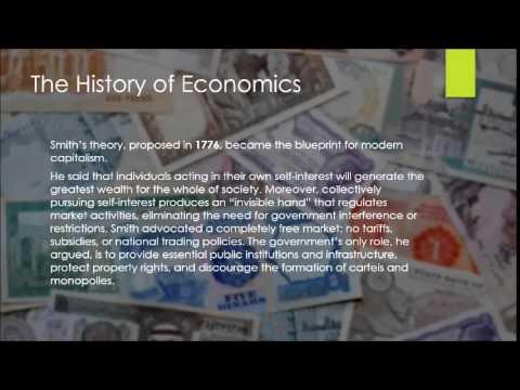 Brief History of Economics