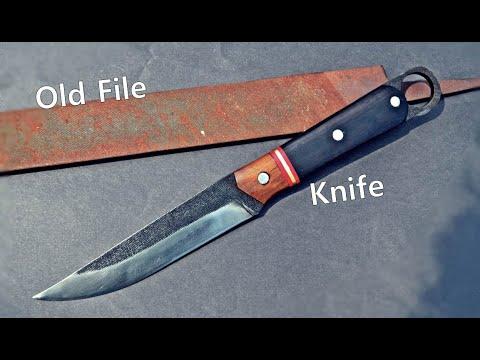 Knife making form old file