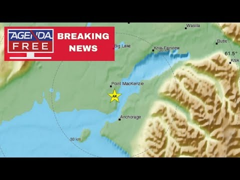 7.0 Earthquake Near Anchorage, Alaska - LIVE BREAKING NEWS COVERAGE