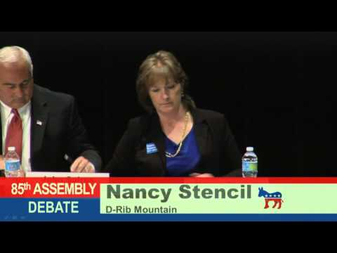 85th & 86th State Assembly Debate At UW-Marathon County