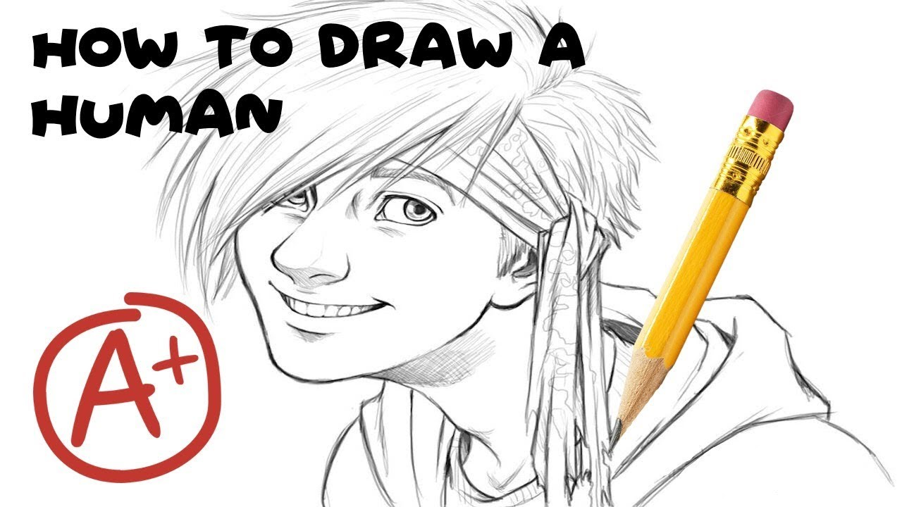 how to draw fictional humans