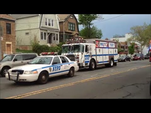 NYPD Emergency Service Unit, Emergency Service Squad Truck Three